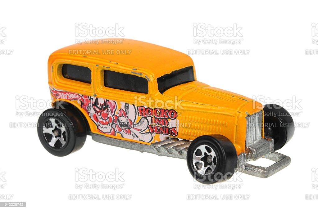 2001 Midnight Otto Hot Wheels Diecast Toy Car stock photo