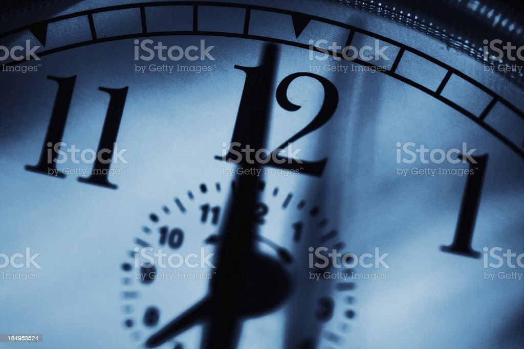 Midnight stock photo