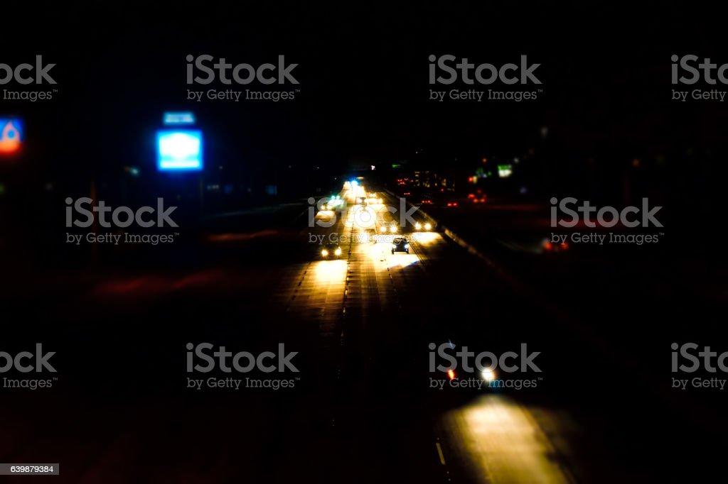 Midnight Run stock photo