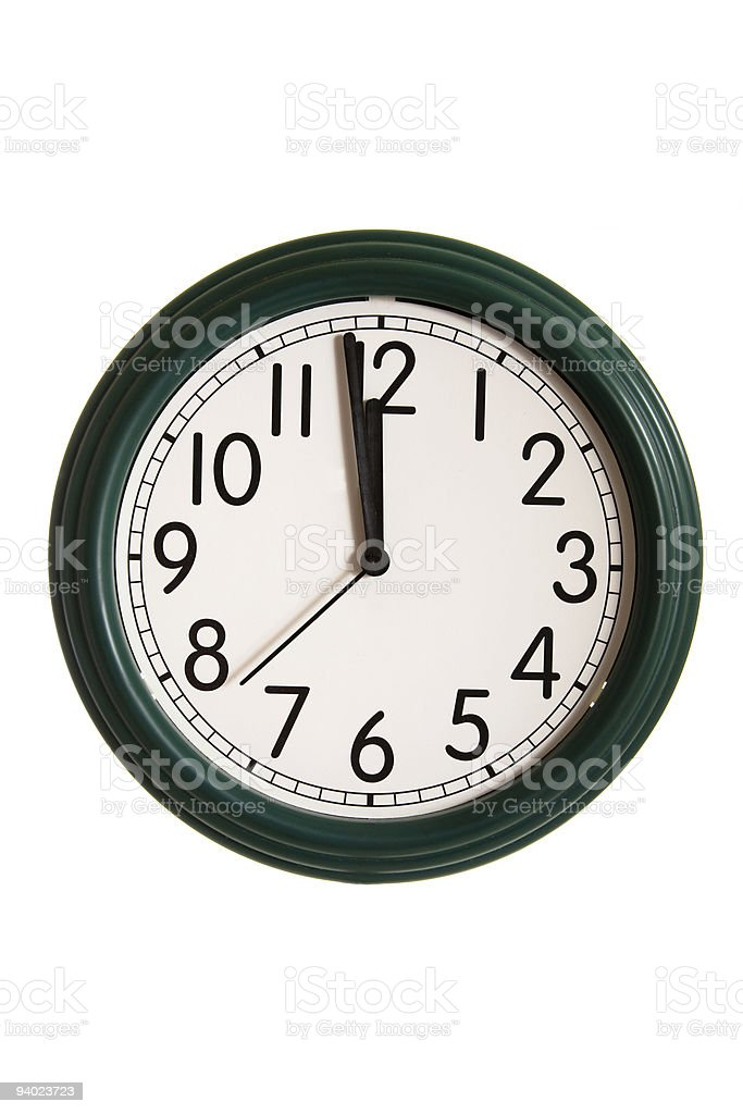 Midnight Time. royalty-free stock photo