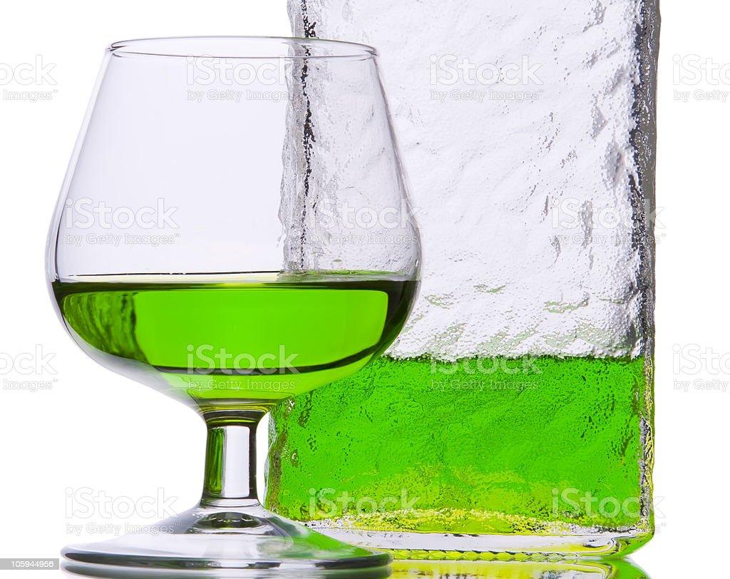 Midori liquor stock photo
