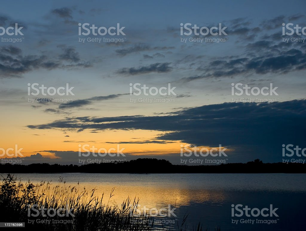 Midsummer Night stock photo