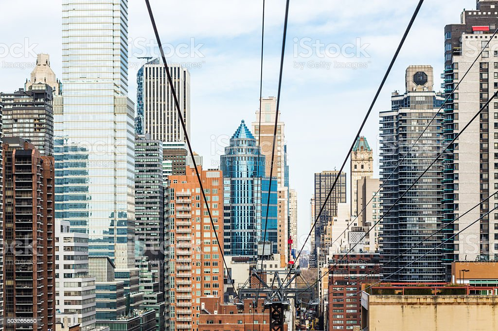 Midtown East and Upper East Side building stock photo