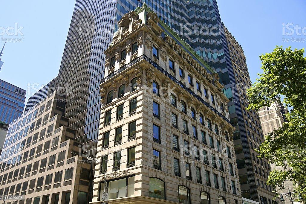 'Midtown Manhattan Architectural Eras & Styles Cityscape, New Yor' stock photo