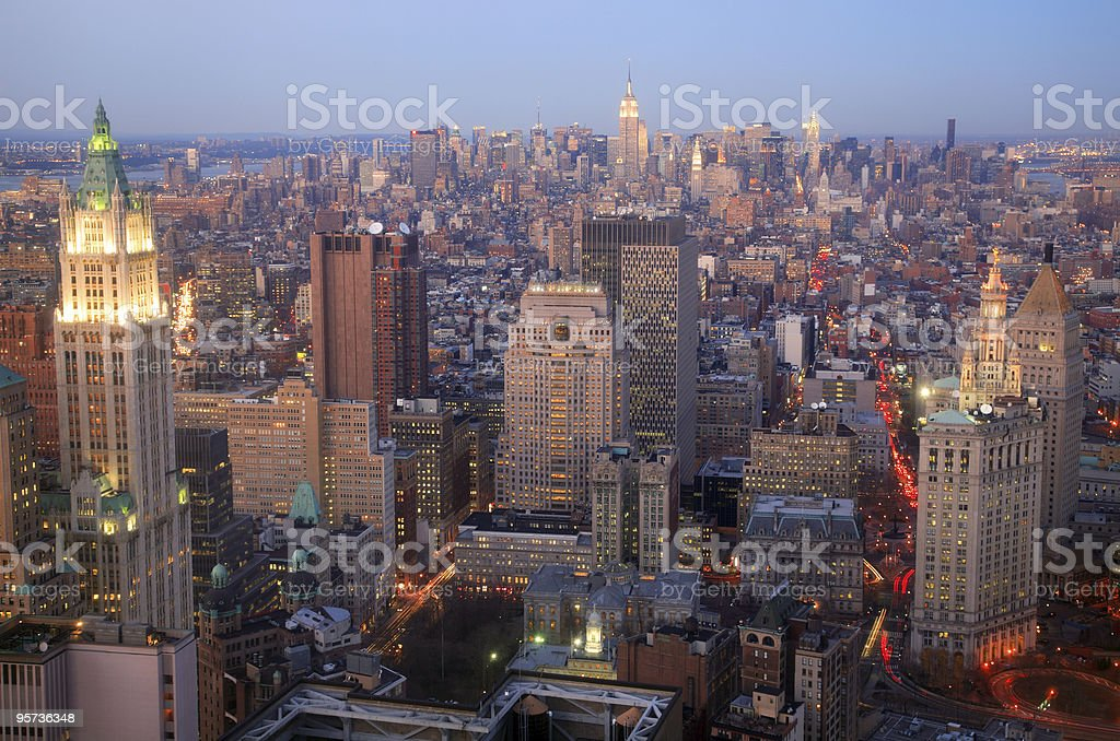 Midtown Manhattan, New York royalty-free stock photo