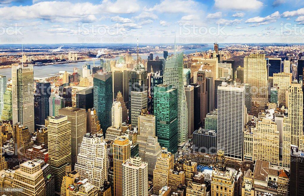 Midtown Manhattan royalty-free stock photo
