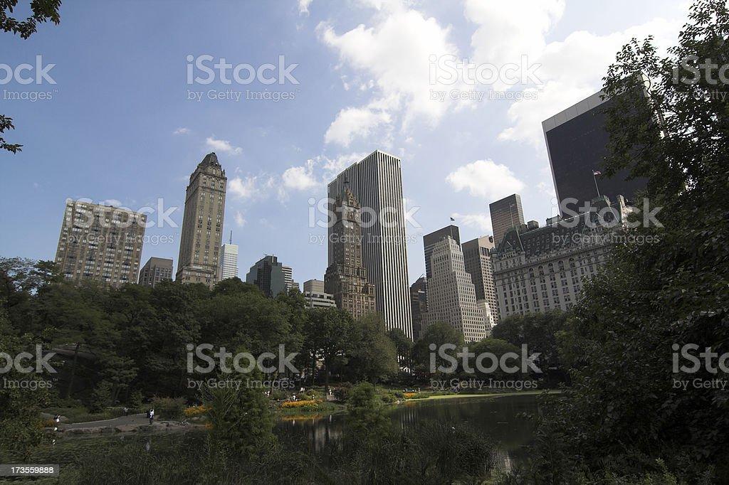 Midtown skyline royalty-free stock photo