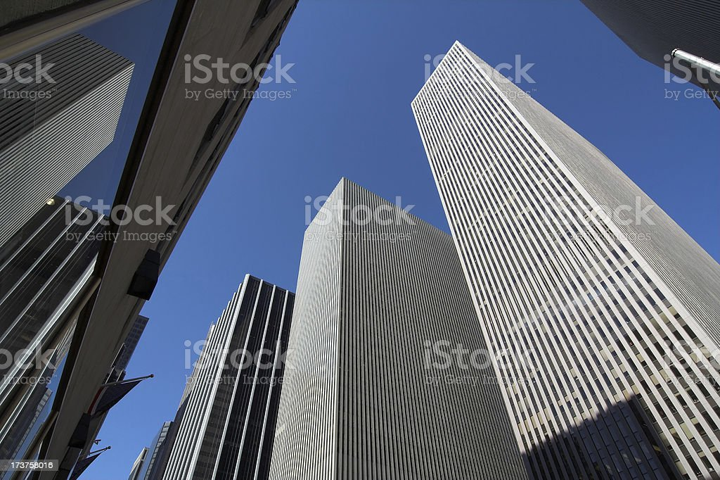 Midtown Skyscrapers stock photo