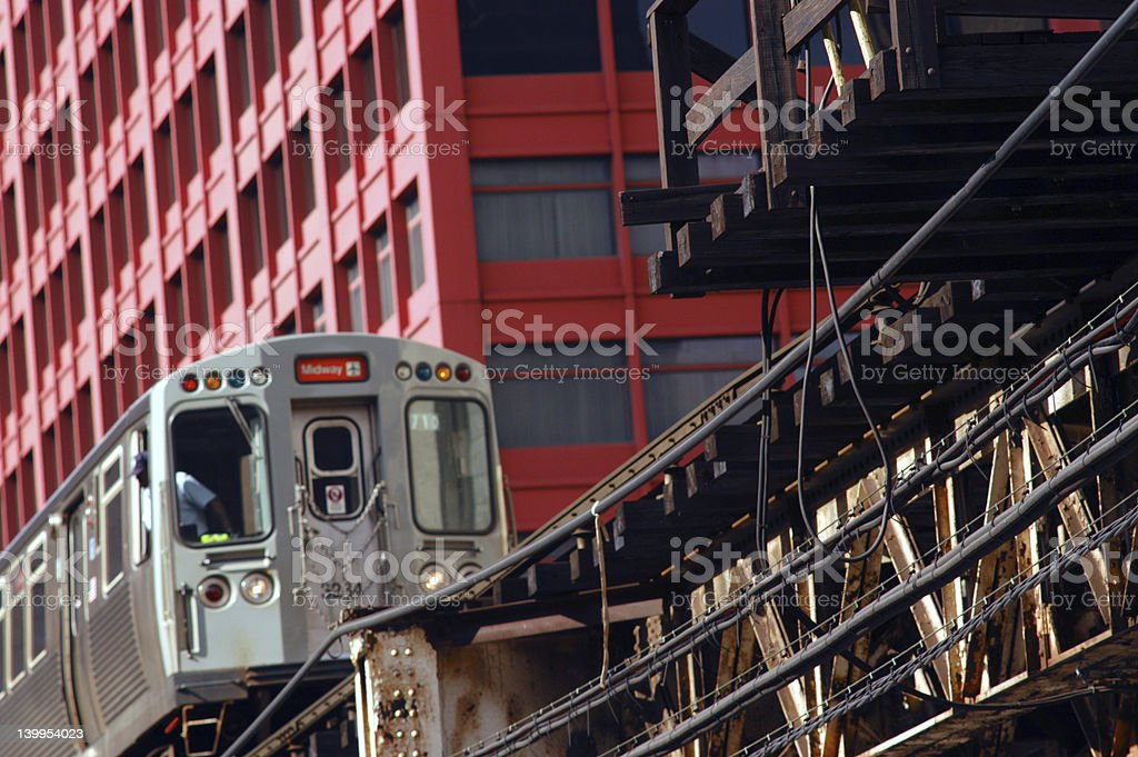 Midway Line royalty-free stock photo