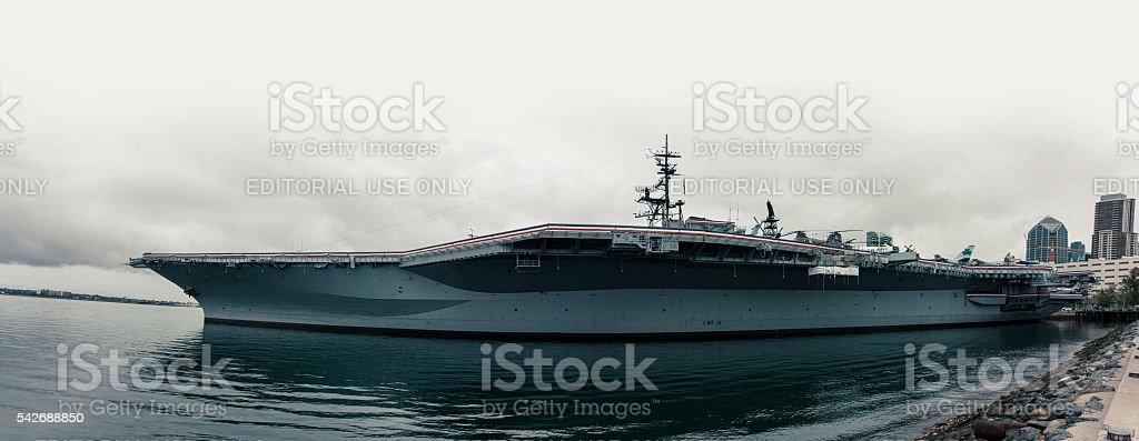 USS Midway stock photo