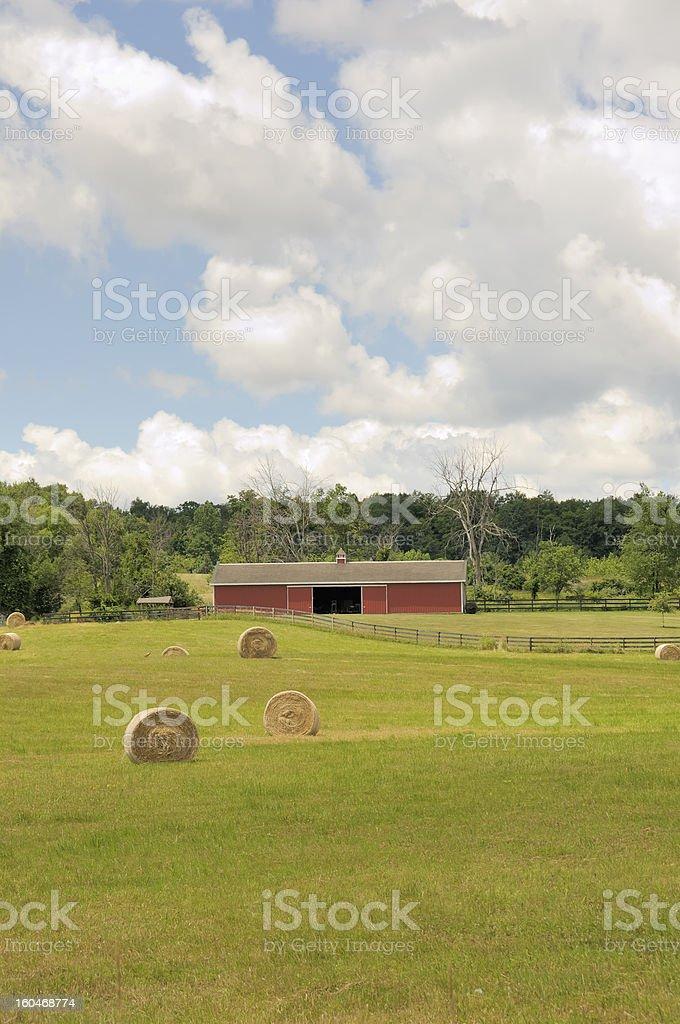 Midwestern Farm stock photo