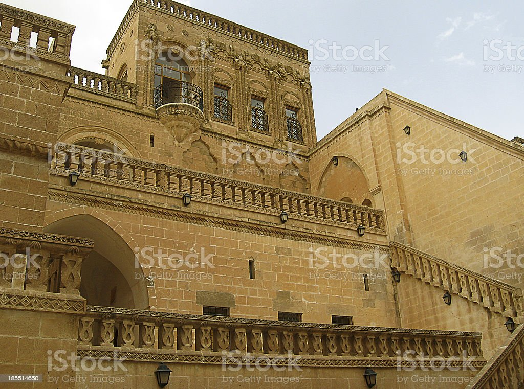 Midyat, Mardin, Turkey stock photo