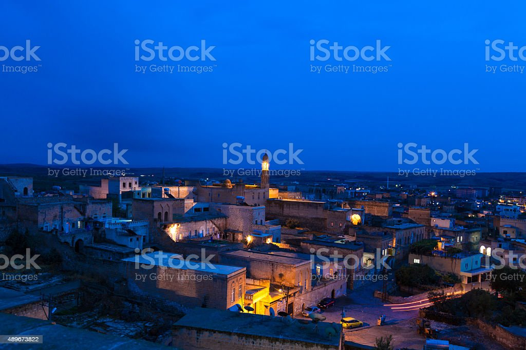 Midyat Mardin turkey stock photo