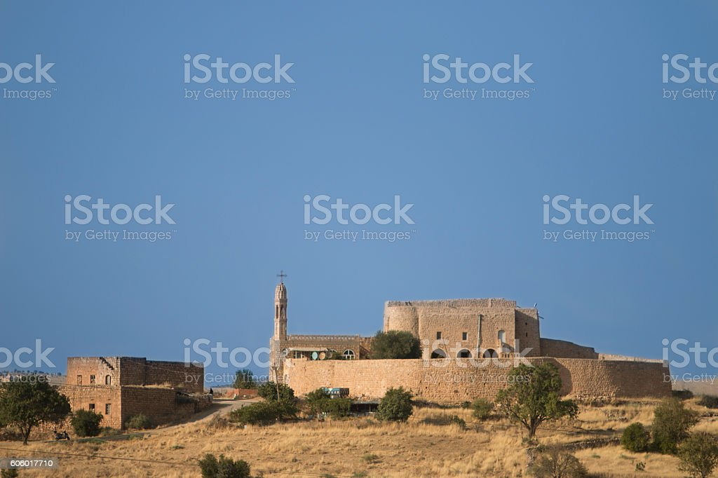 midyat mor dimet monestery stock photo