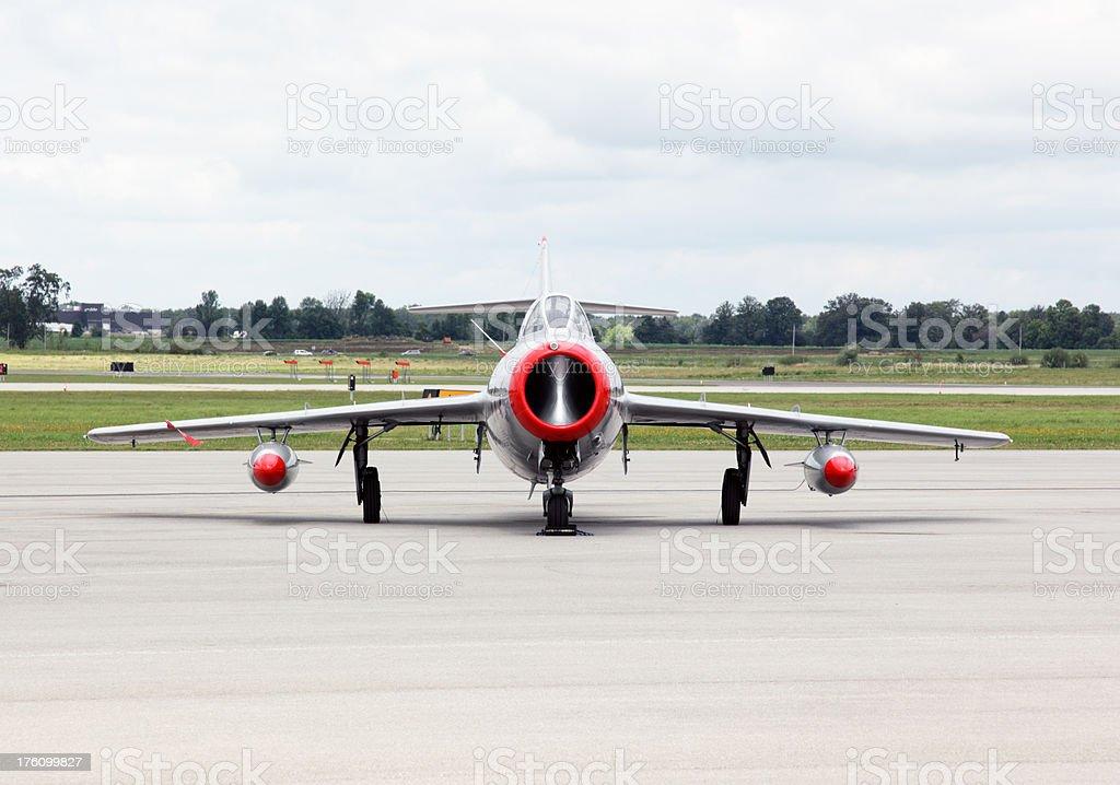 MiG 15 stock photo