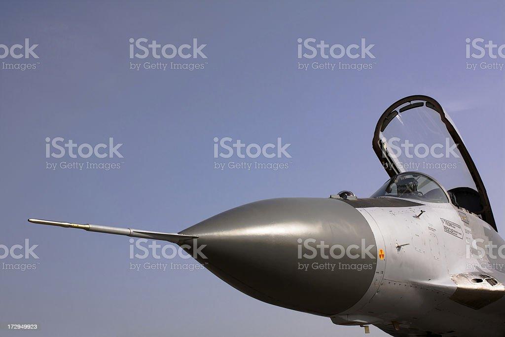 MiG 29 AS stock photo