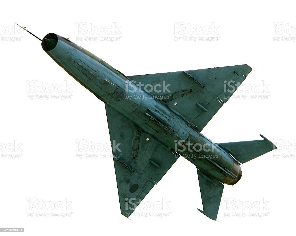 MiG-21 stock photo