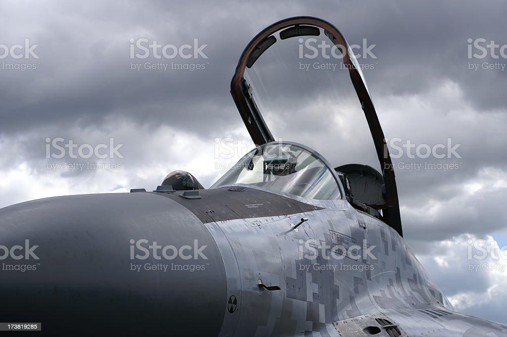 Mig-29 Fulcrum Cockpit stock photo
