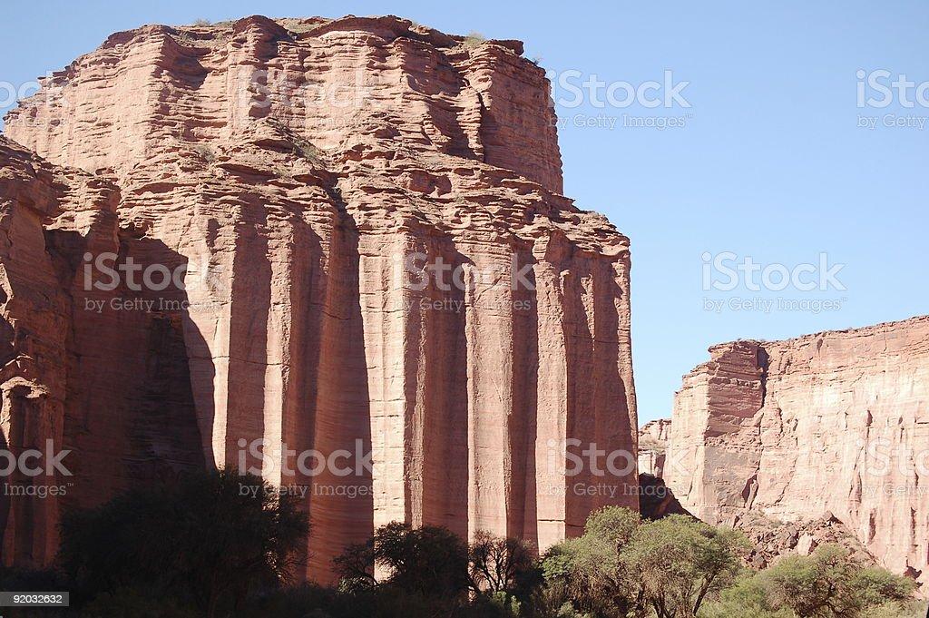 Mights rocks w Talampaya national park zbiór zdjęć royalty-free