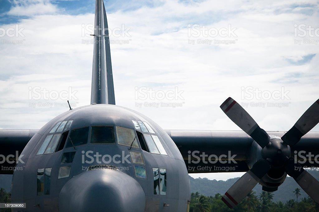 Mighty Hercules stock photo