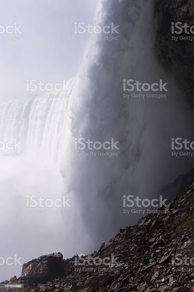 Mighty Niagara Falls stock photo