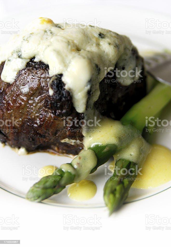 mignon gorgonzola stock photo