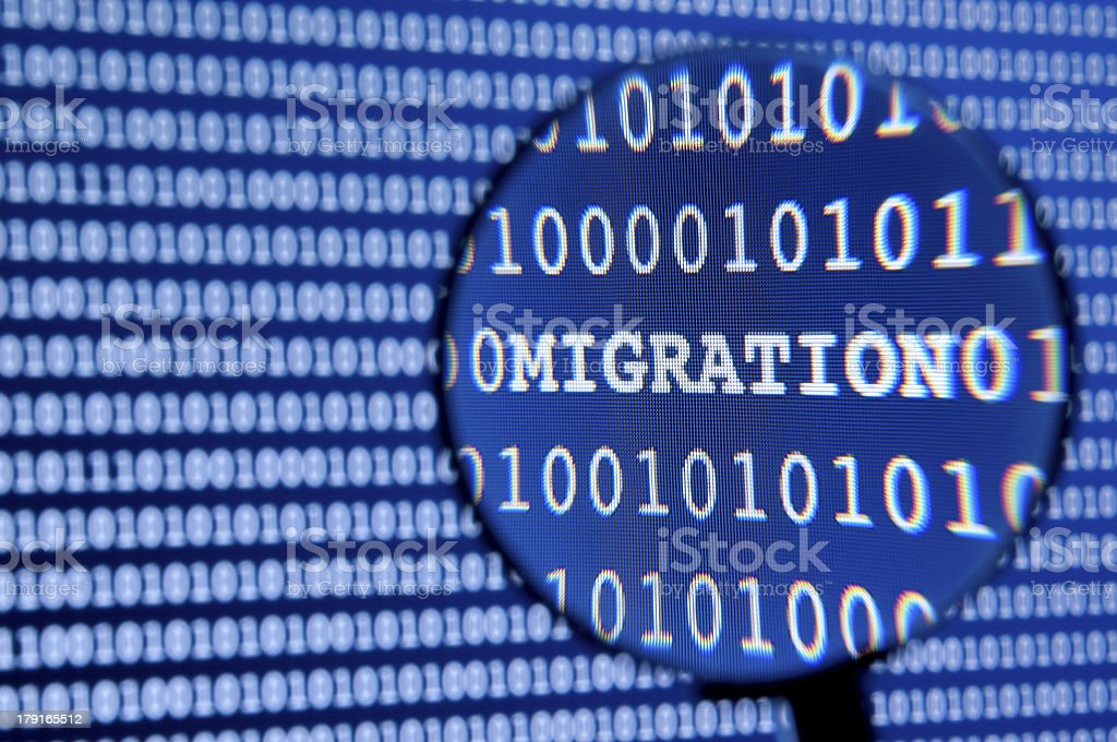 Migration Concept stock photo