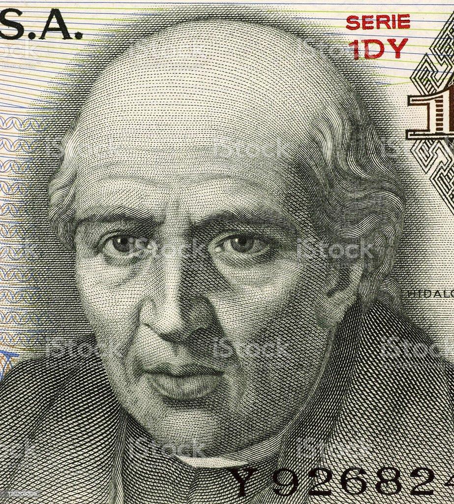 Miguel Hidalgo y Costilla stock photo