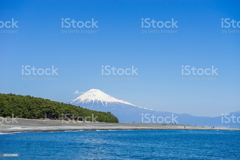 Miho no Matsubara stock photo