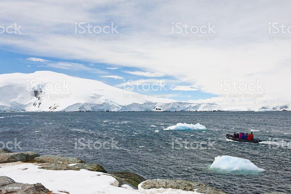 Mikklesen Harbour expedition stock photo