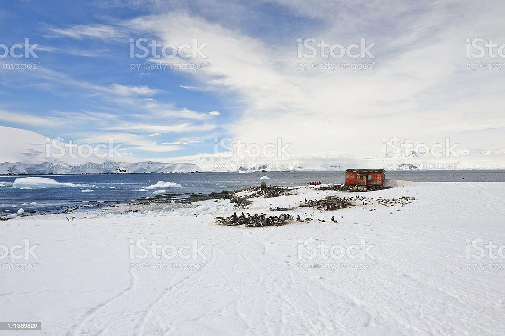 Mikklesen Harbour stock photo