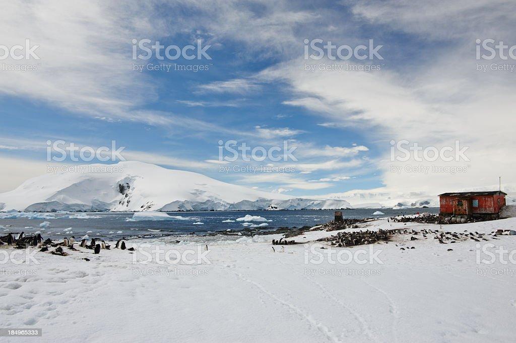 Mikklesen Harbour view stock photo