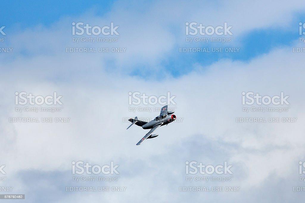 Mikoyan-Gurevich MiG-15 stock photo