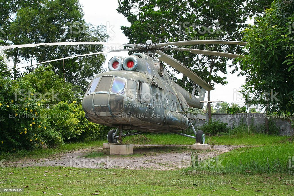 XU-814 Mil Mi-8T helicopter stock photo