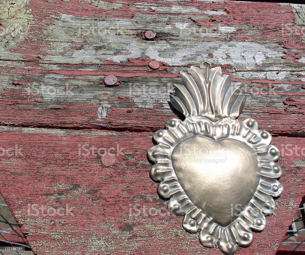 Milagro Heart royalty-free stock photo