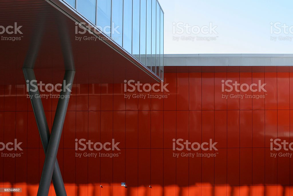Milan architectural abstract royalty-free stock photo