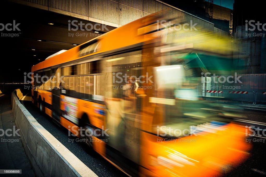 Milan Bus stock photo