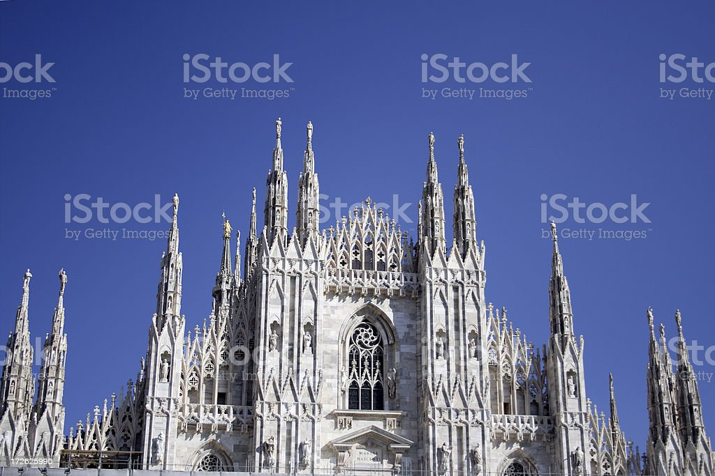 Duomo di Milano royalty-free stock photo