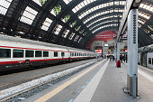 Milan Central Station interior view