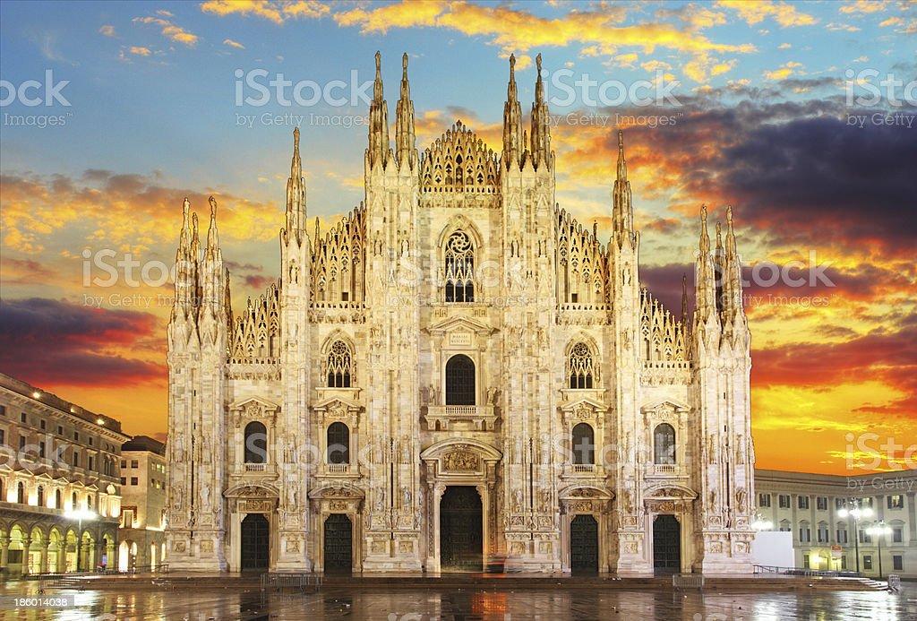 Milan - Duomo stock photo
