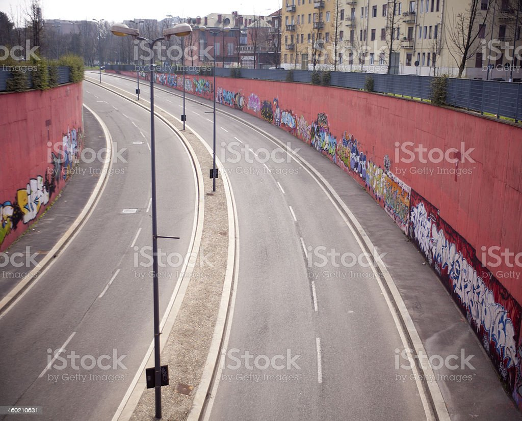 Milan Graffiti stock photo