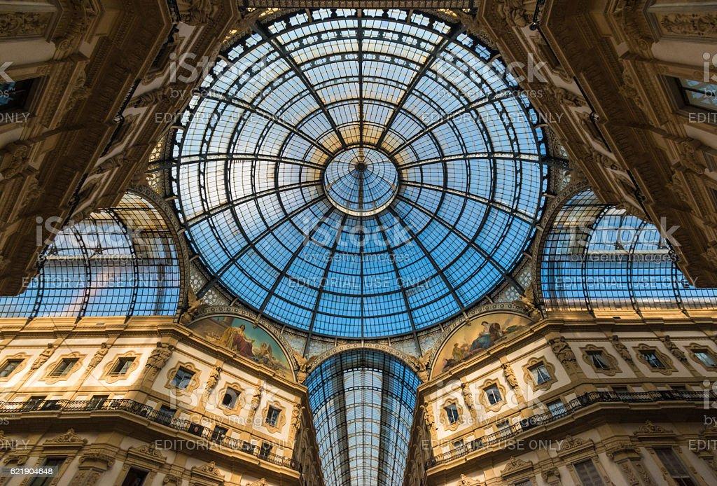 Milan, Italy - Characteristic views of the metropolis stock photo
