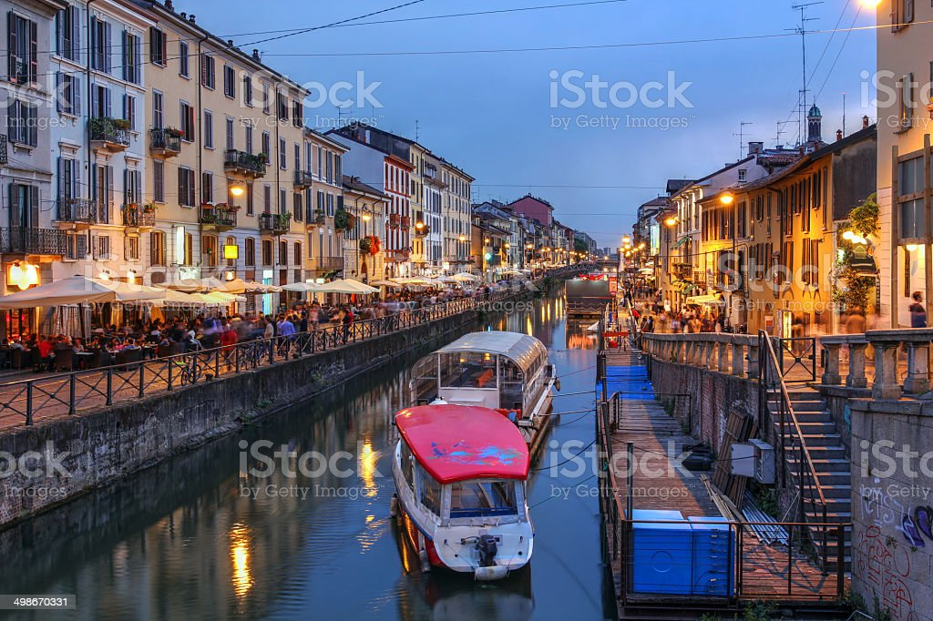 Milan, Italy stock photo