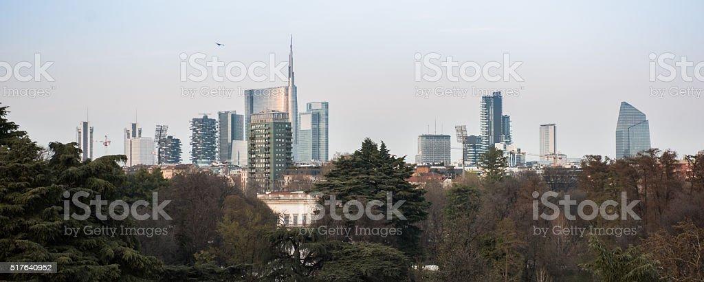 Milan - New skyline 2016 stock photo