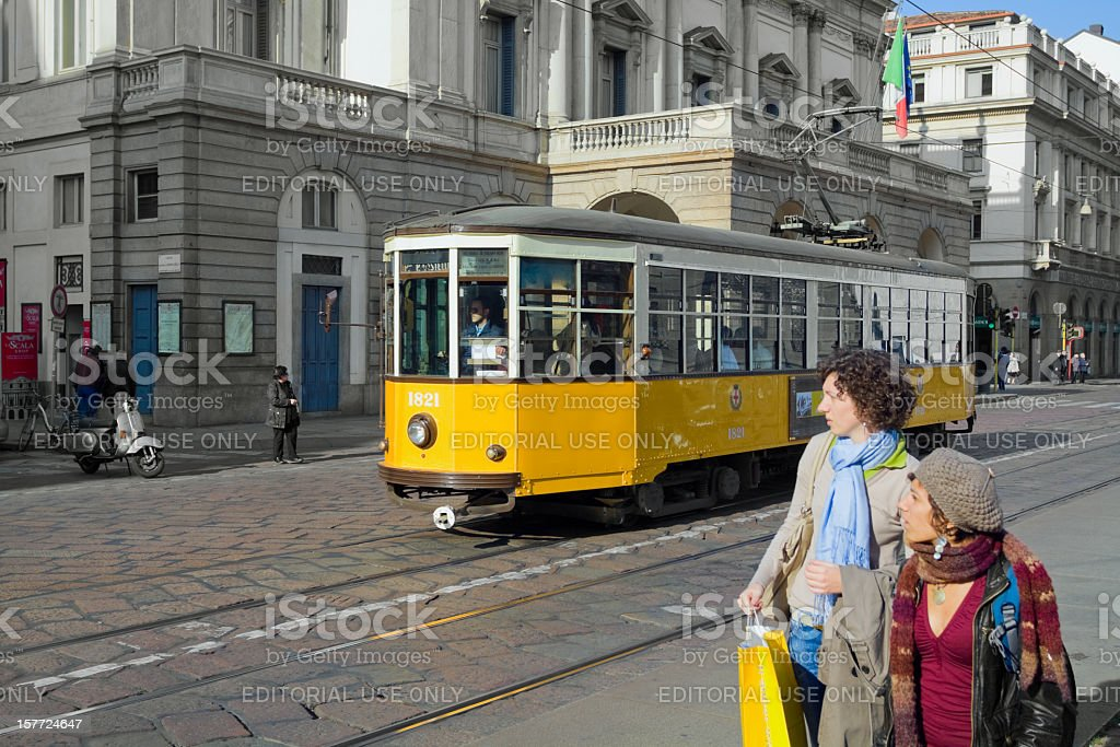 Milan opera Scala stock photo