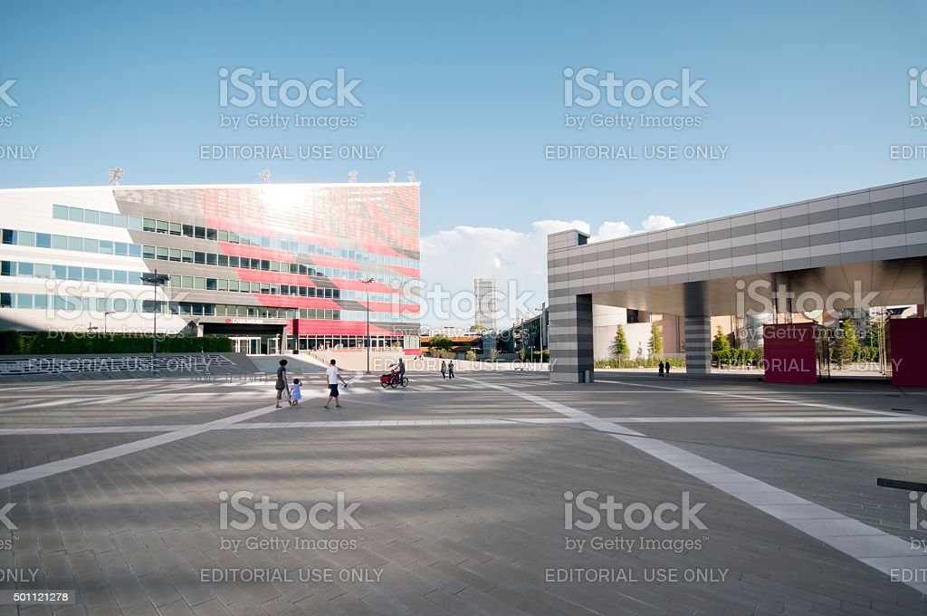 Milano 'Portello' stock photo