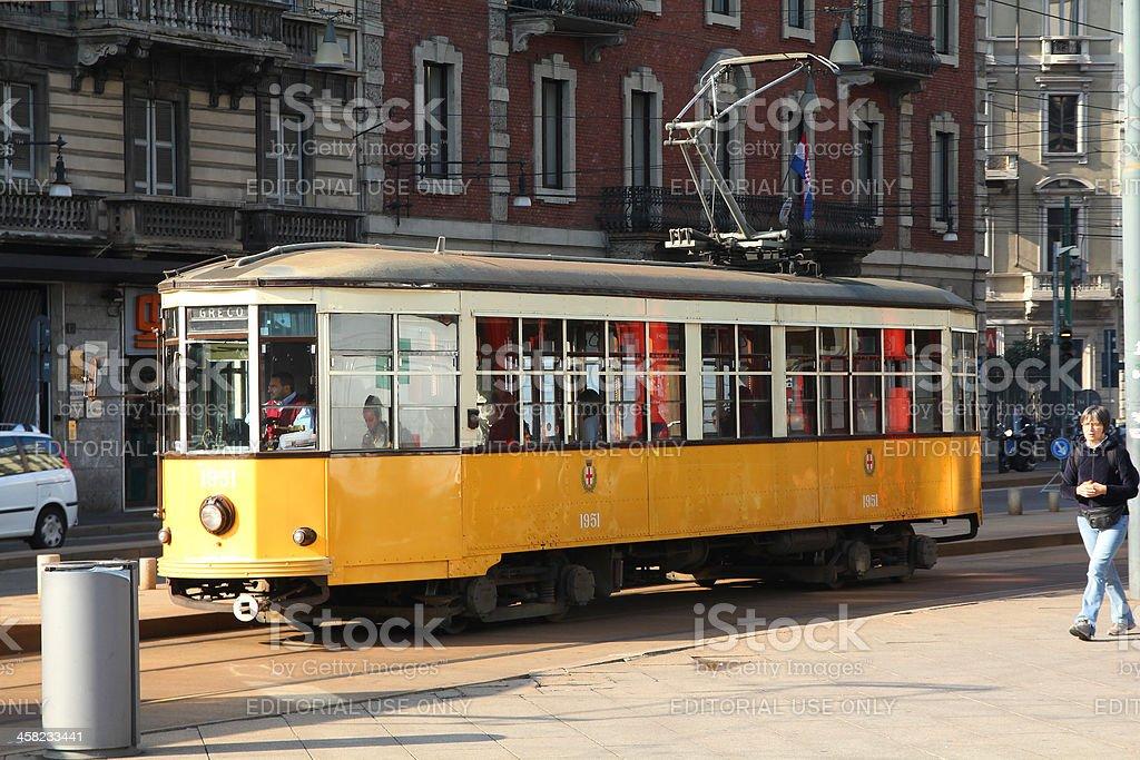 Milan transportation royalty-free stock photo