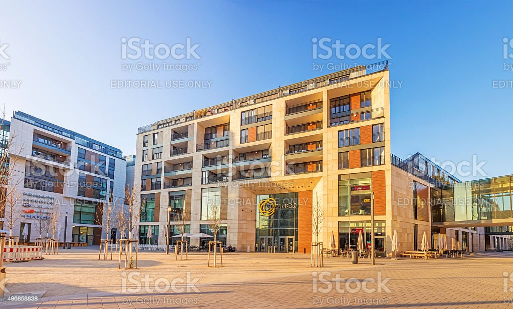 Milaneo Shopping Mall, Stuttgart stock photo