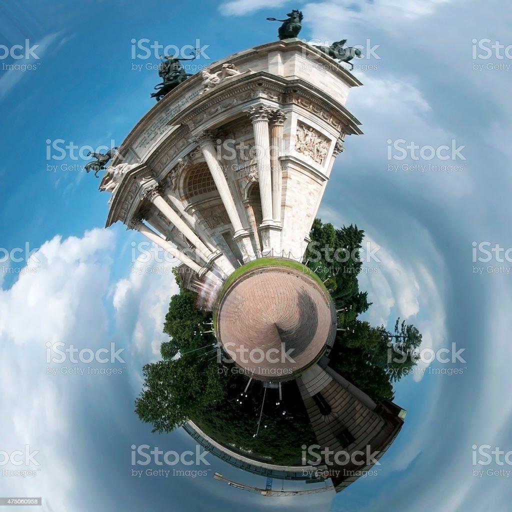 Milano Arco della Pace stock photo