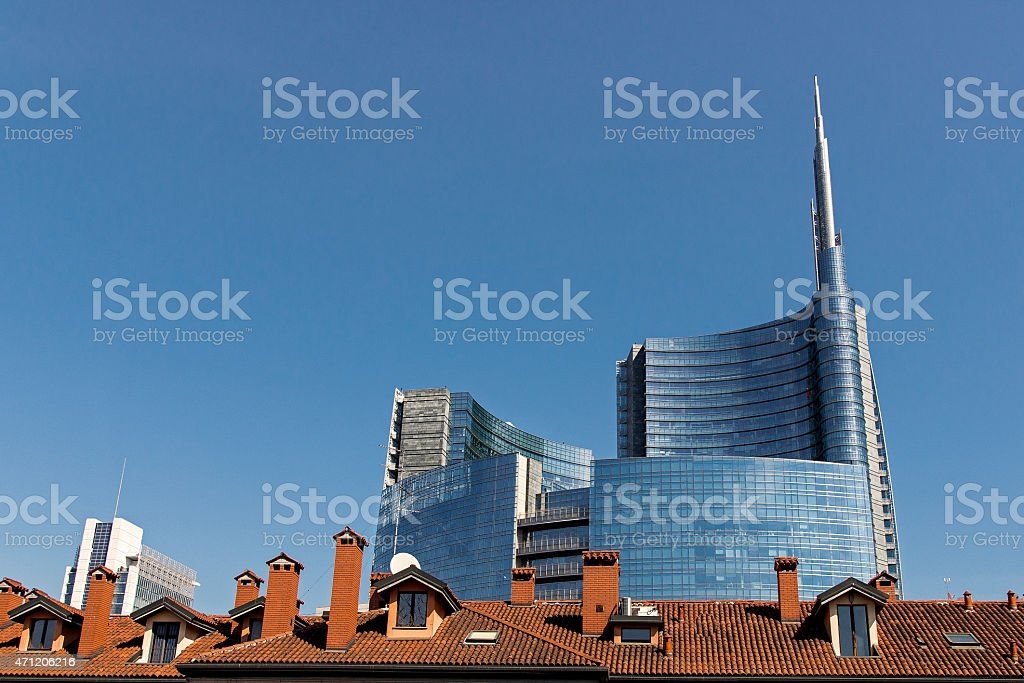 Milano, Expo, Italia stock photo